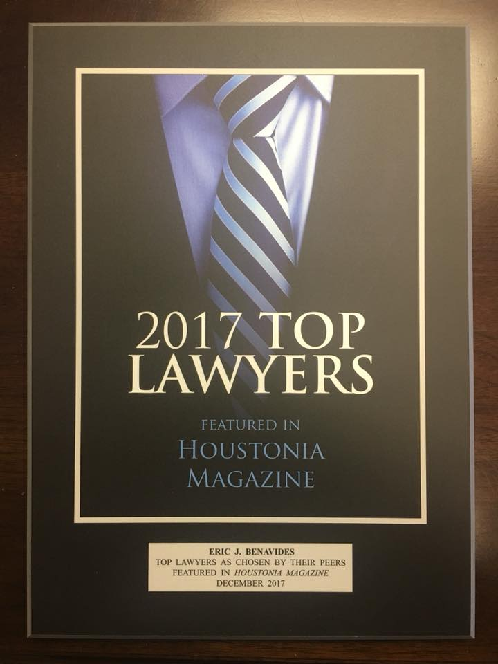 Eric Benavides Top 2017 Lawyers