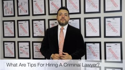 how to hire a criminal lawyer