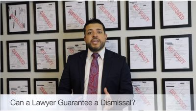 Can a Texas Criminal Defense Lawyer Guarantee a Dismissal