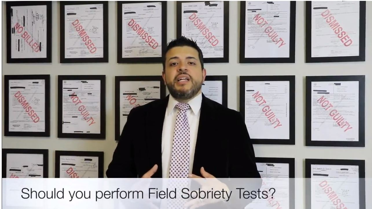Should You Do Field Sobriety Tests?