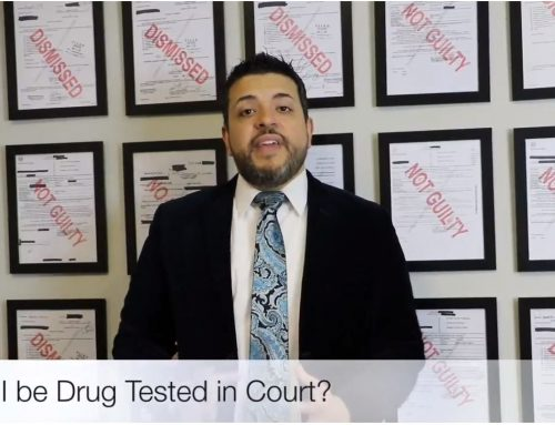 Can I Be Drug Tested in Court?