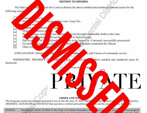 Houston Public Lewdness Lawyer – Case Dismissed