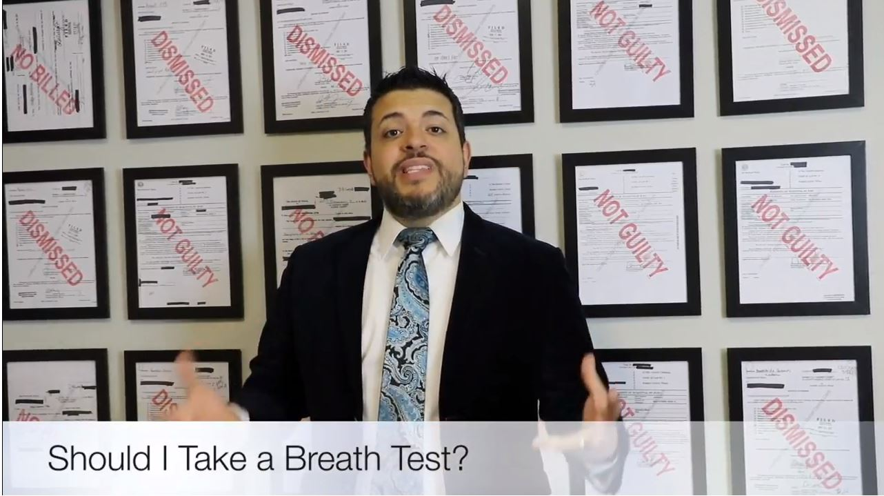 Should I Take a Breath Test if Asked by an Officer?