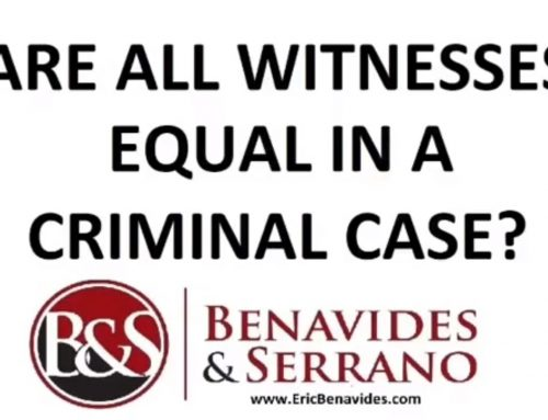 Are All Witnesses Equal in a Criminal Case?