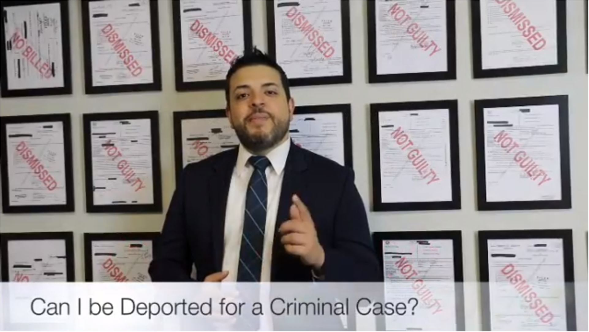 Can I Be Deported Because of a Criminal Case?