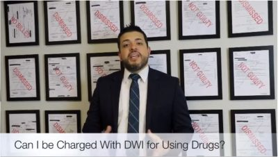 Can I be Charged With DWI for driving after using drugs