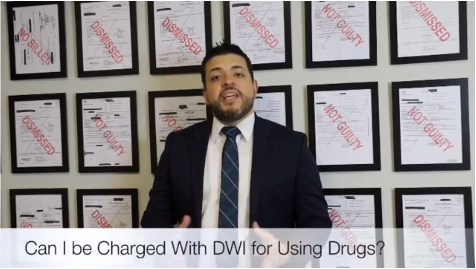 Can I be Charged with DWI for Driving after Using Drugs?
