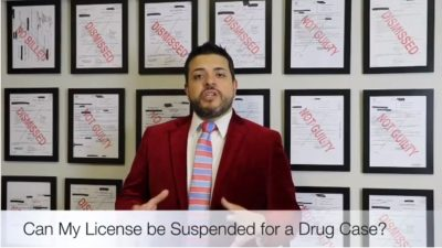 Can my Texas Driver's License be Suspended for a Drug Case.