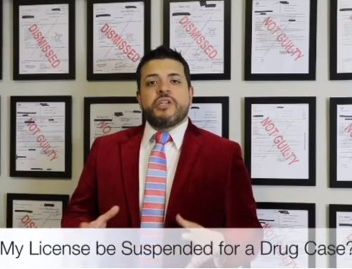 Can my Texas Driver's License be Suspended for a Drug Case?