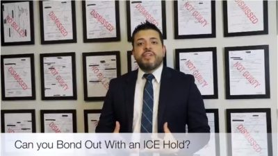 Can you Bond Out of Jail with an ICE Hold
