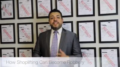 How Shoplifting Can Become Robbery in Texas