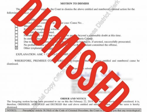 Houston Assault Lawyer – Conditional Dismissals