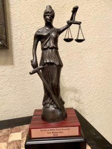Best Houston DWI Lawyer Trial Warrior Award